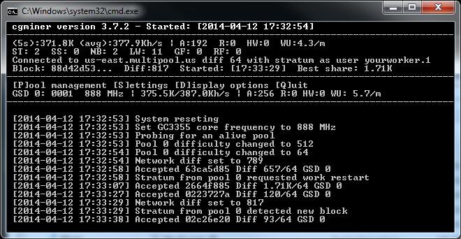 BCH mining software