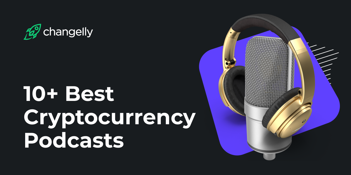 10 best crypto podcasts cover