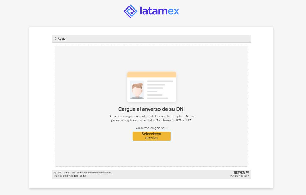 Latamex registration