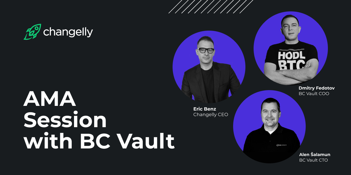 ama Changelly and BC Vault