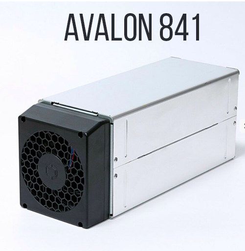Canaan AvalonMiner 841 bitcoin ASIC image