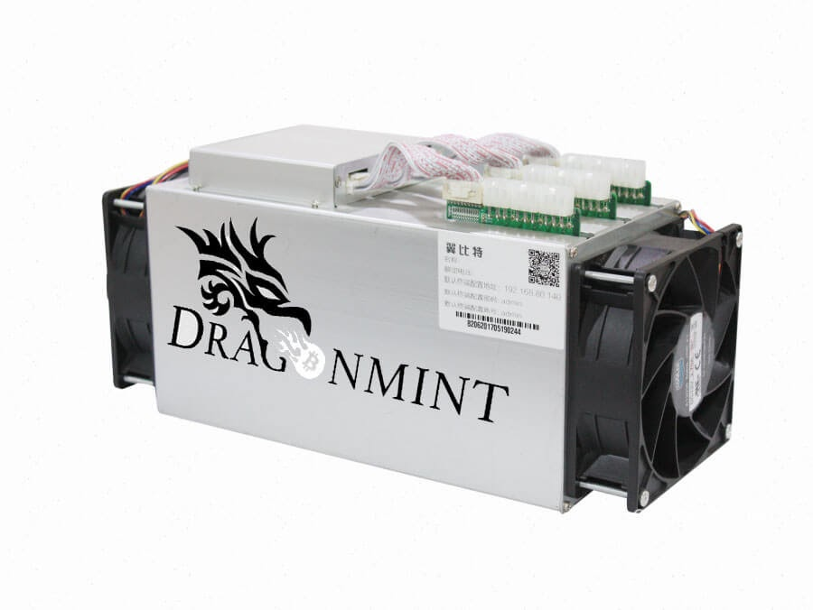 Halong Mining DragonMint T1 Bitcoin ASIC image