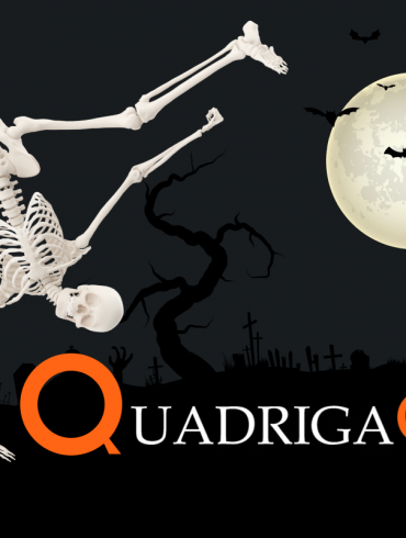 QuadrigaCX halloween cover of article about CEO and scam