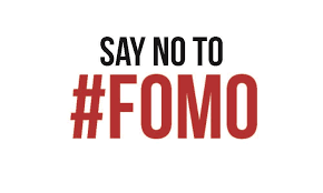 no fomo sign