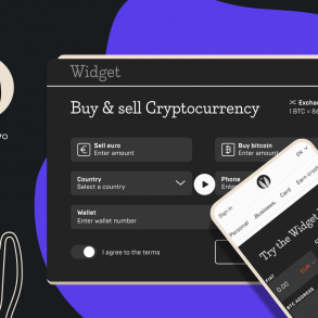 How to Sell Crypto with Mercuryo article cover woth the screenshot of mercuryo widget