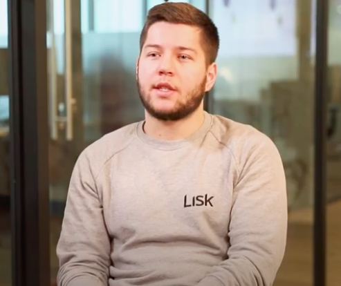 Max Kordek the co-founder and CEO of Lisk