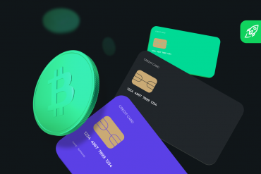 buy bitcoin and cryptocurrencies article cover with several bank cards