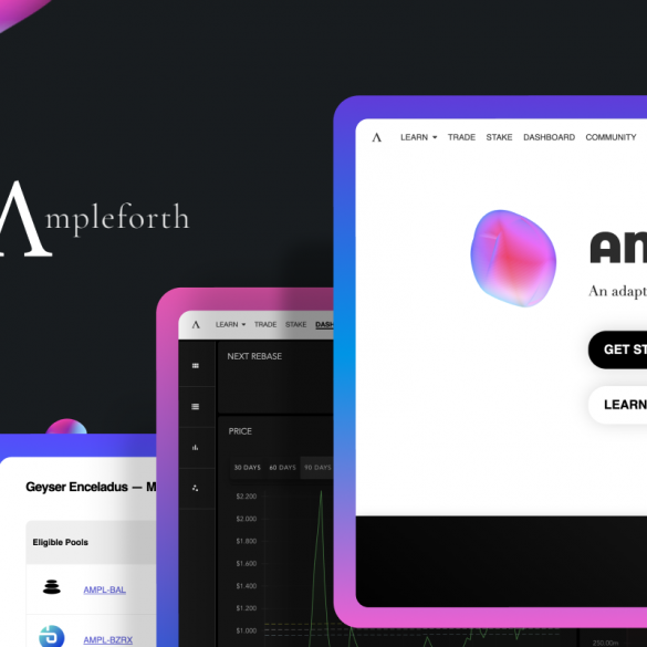 ampleforth ampl website interface article cover
