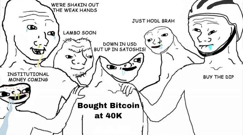 a trader that bought btc at 40,000