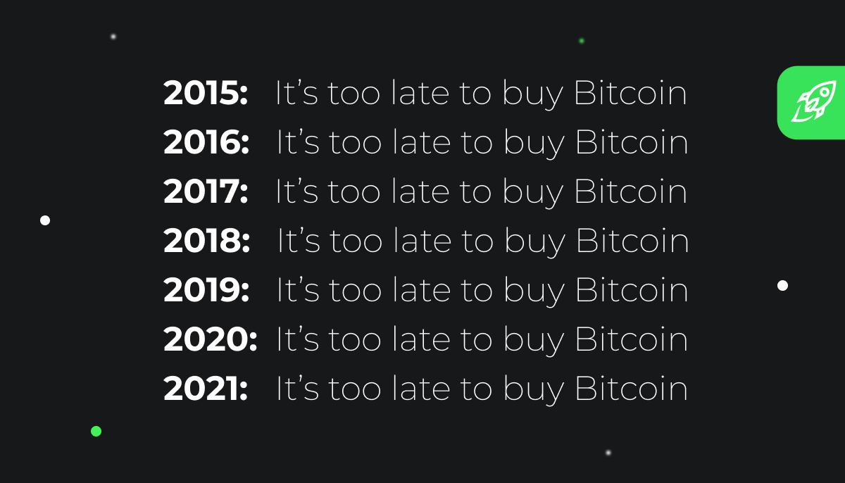 It's too late to buy the btc changelly version